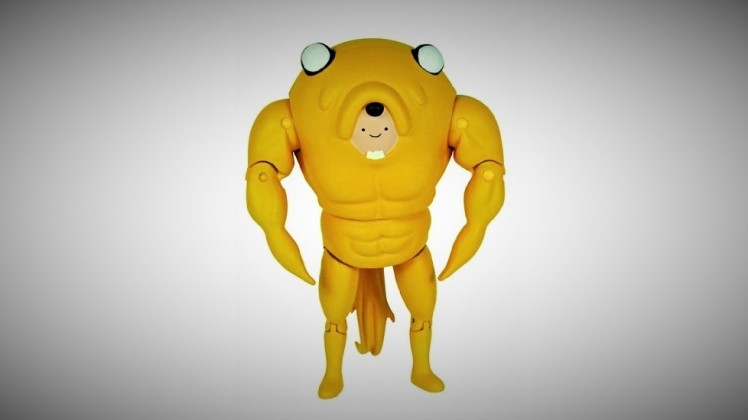 Adventure Time Finn in Jake Suit
