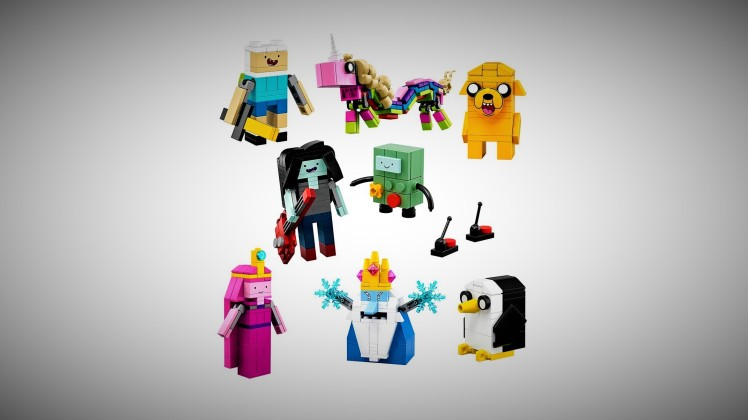 Lego Adventure Time Toys